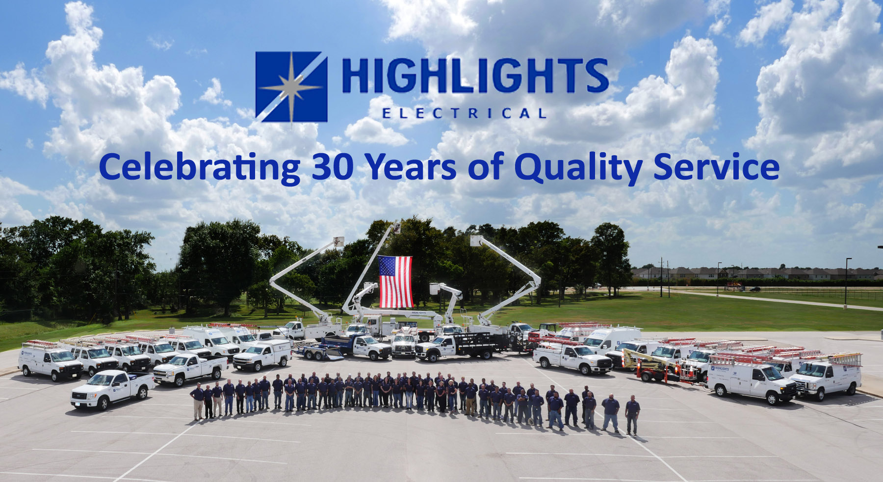 Houston electrical contracting is offered at Highlights Electrical!