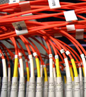 Fiber Optic Cable Installation for LAN