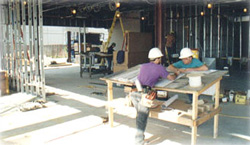 Electrical Construction on New Building